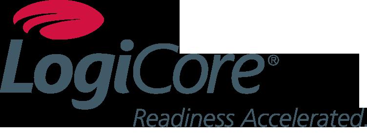 LogiCore Color Logo w tag